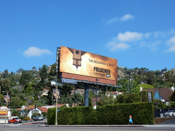Preacher series launch billboard