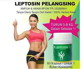 Leptosin Obat Pelangsing Perut Buncit Yang Aman Dan Sudah BPOM