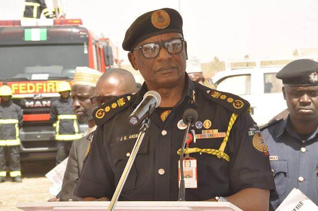 Graduate Senior Inspector of Fire (SIF) worker