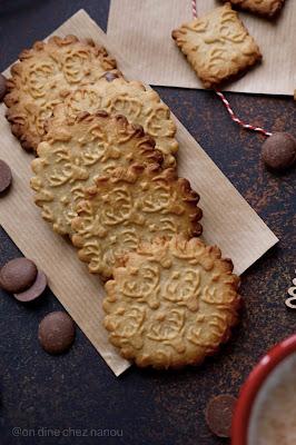 butterbredele , alsacien , cookies , chocolat , trop bon