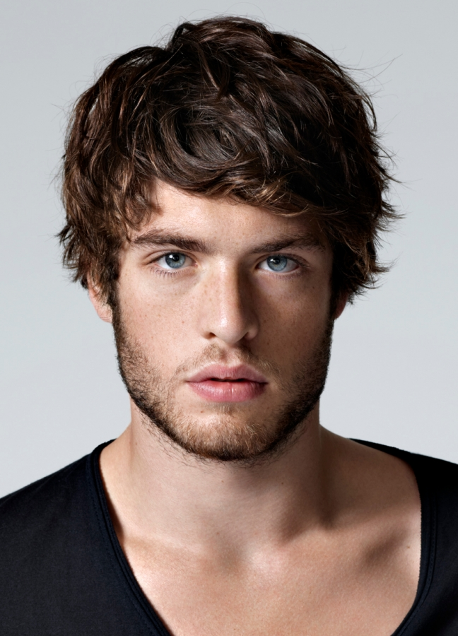 Medium Hairstyles With Bang: Mens Current Hairstyles
