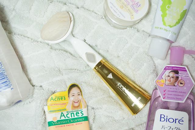 pobling, clarisonic, facial cleanser, korean skin care, asian skin care, skin care, habalan