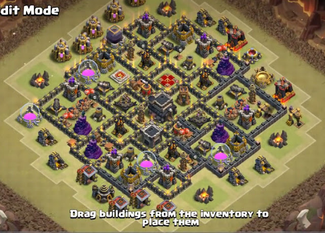 exceptional th9 layout in the world