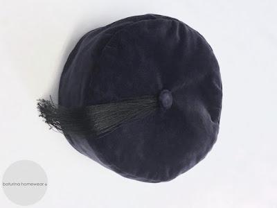 mens english gentleman velvet smoking cap tasseled smoker hat victorian traditional vintage style