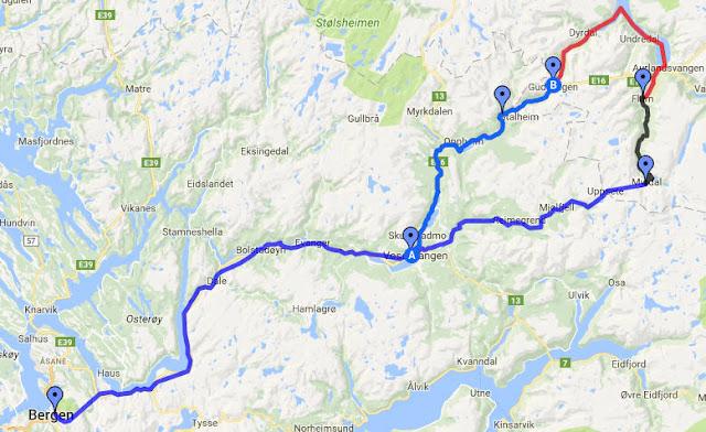 Ruta excursión por los fiordos noruegos (norway in a nutshell) (@mibaulviajero)
