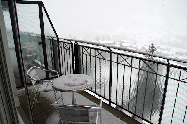 Hotel Belvedere Grindelwald Balcony