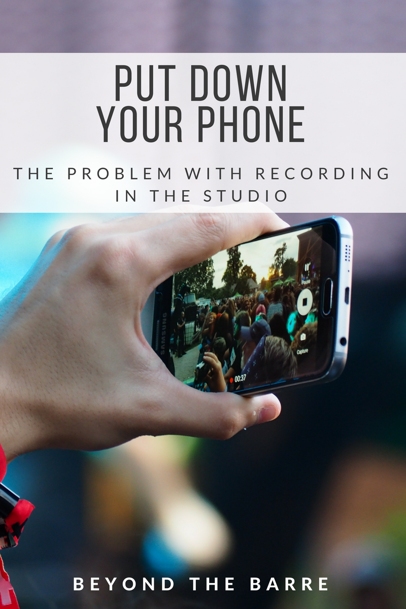 put your phone why you shouldn t videotape your