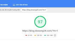 Cải thiện chỉ số PageSpeed Insights khi kết nối với Google adsense, analytics và facebook cho blogspot