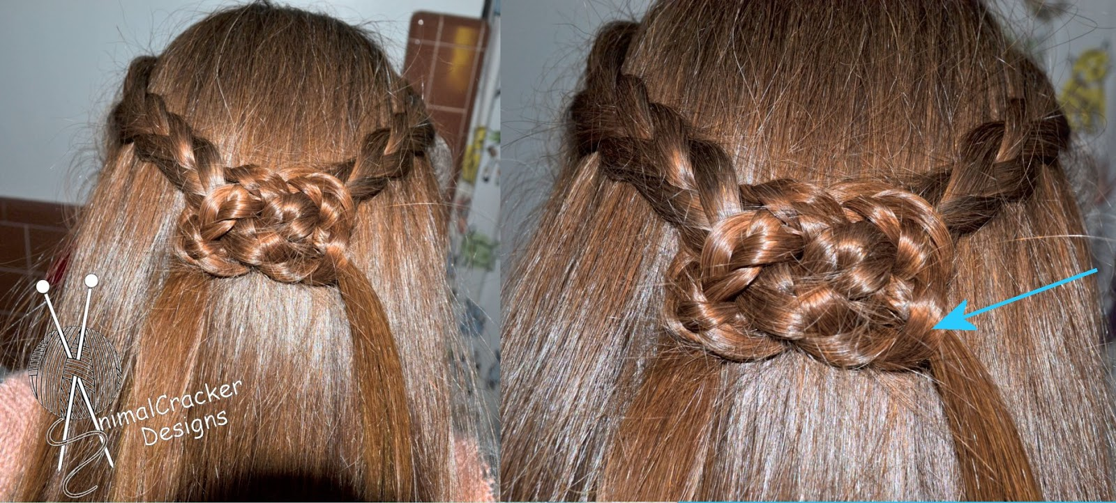 The Other Sink: Braided Celtic Hair Knot