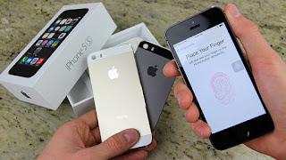 iPHONE 5s second bekas black grey gold