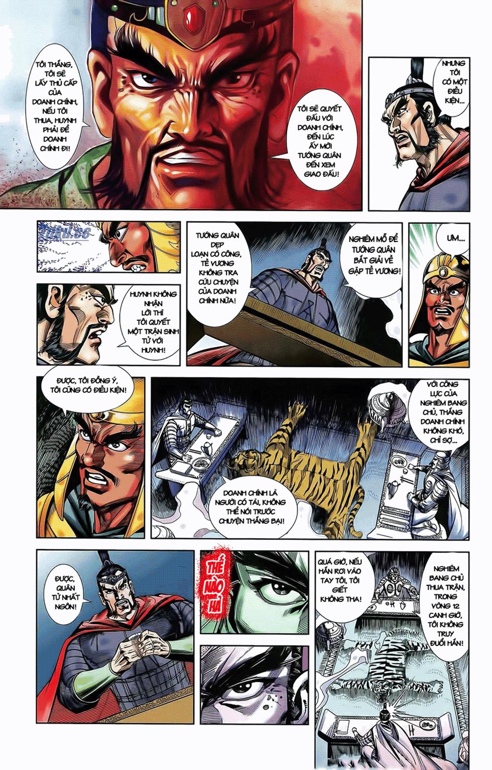 Tần Vương Doanh Chính chapter 10 trang 18