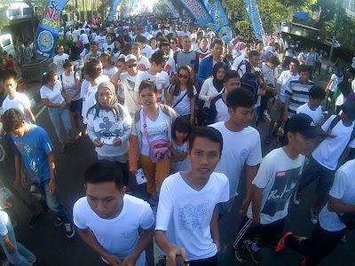 Yogyakarta color Run
