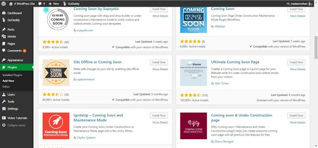 wp coming soon plugins