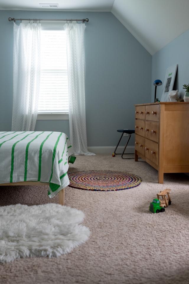 nursery wall color before- designaddictmom