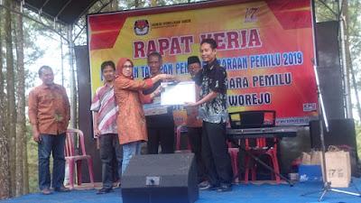 PPK Pituruh Terima Peringkat 3 Kategori Soliditas Tim dari KPU Kabupaten Purworejo