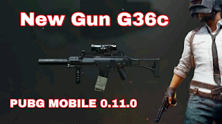 New Gun G36c is in update 0.11.0 PUBG Mobile!