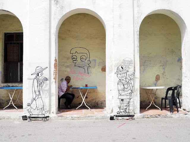 Straßenkunst Georgetown