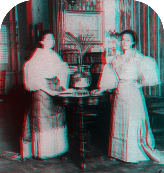 Stoic Decay: 3D Library of Congress: Six