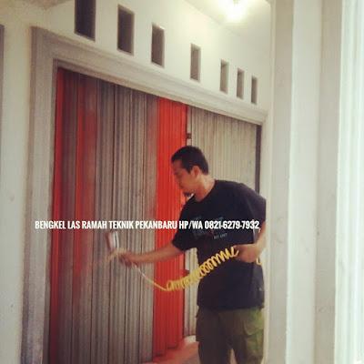 Bengkel Service Folding Gate Pekanbaru