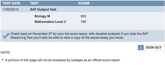 Steuben Stories: SAT Subject Tests