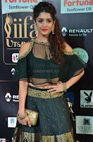 Ritika Singh in a Ethnic Deep Neck Dark Green Choli Ghagra at IIFA Utsavam Awards March 2017 ~ 003.JPG