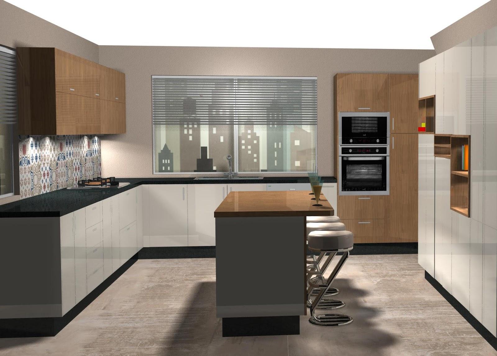 Dise o muebles de cocina dise o de cocina laminado en for Muebles de cocina 2016