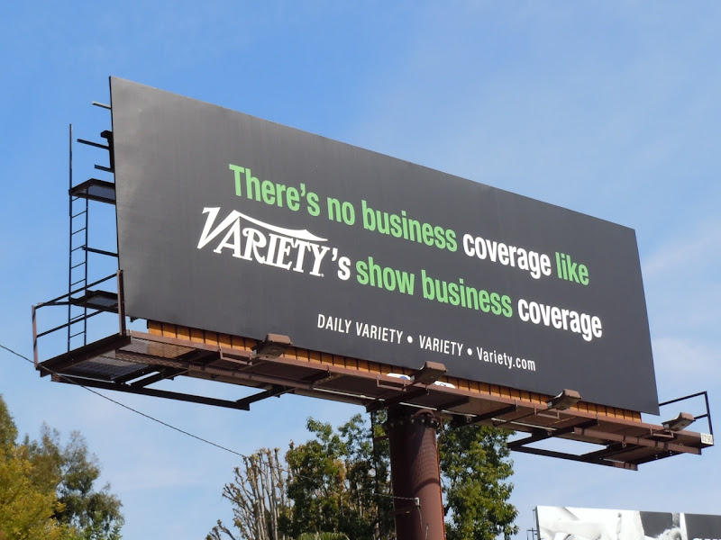 Variety show business billboard