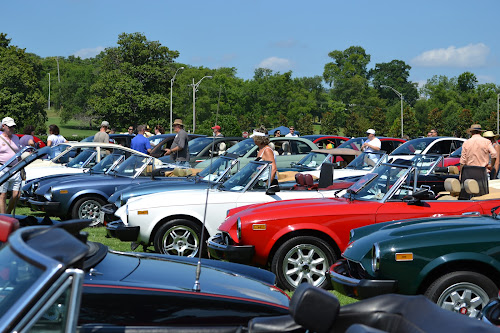 Fiat Spiders at the Fiat FreakOut