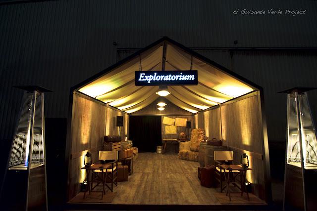 Tienda de Campaña Exploratorium - Santurtzi por El Guisante Verde Project