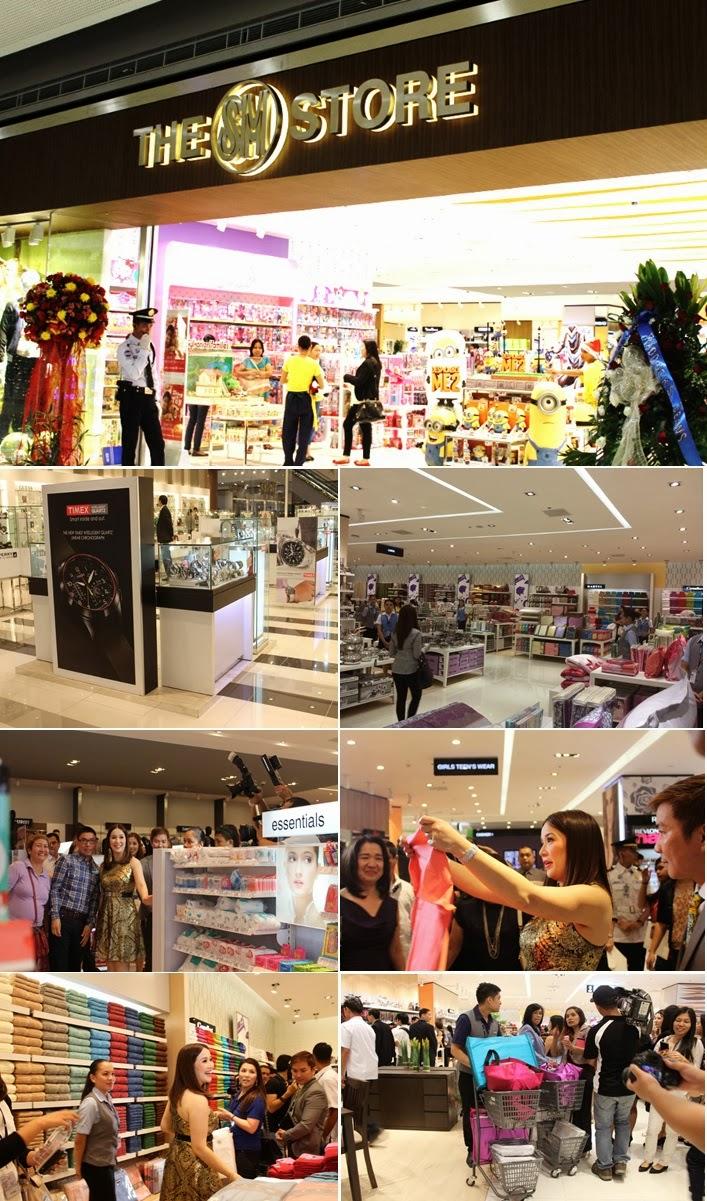 Kris Aquino loves shopping at the SM Store