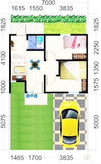 Kumpulan Desain dan Sketsa Rumah Minimalis Ukuran 6x12 Paling Dicari
