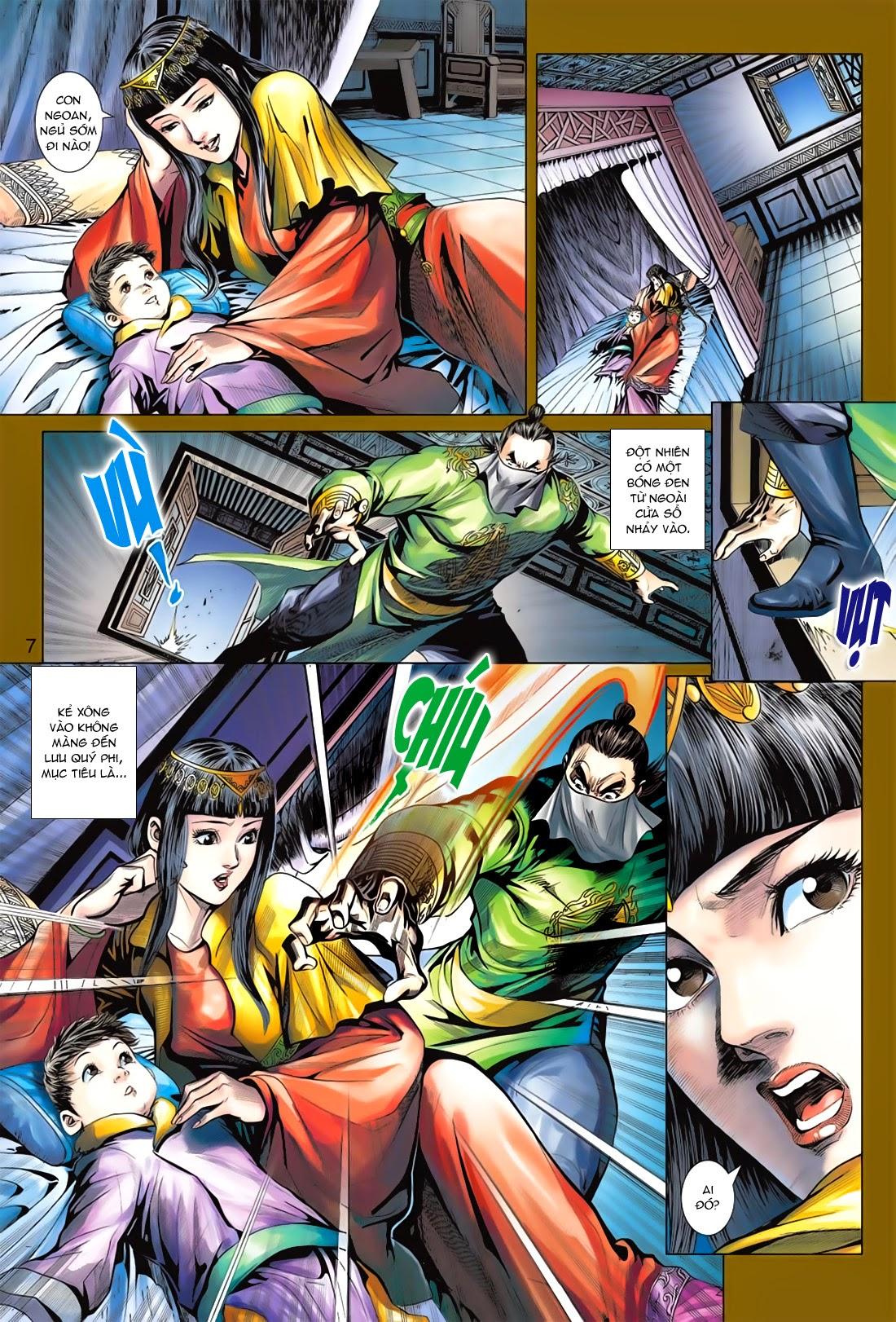 Anh Hùng Xạ Điêu anh hùng xạ đêu chap 78: sát anh trang 7