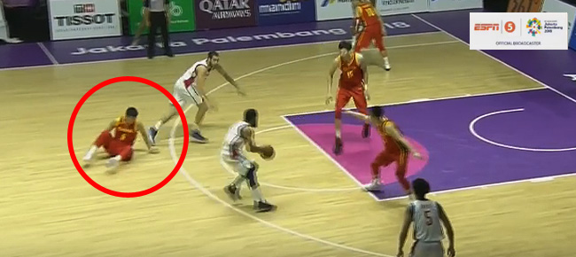 Stanley Pringle's NASTY Crossover Puts China's Fang Shuo On The Floor (VIDEO)