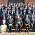 Students of Sardar Patel University call on the President