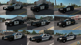 ai highway patrol pack for ats, american truck simulator mods, ats ai mods, ats ai traffic pack, ats mods, ats real street, ats realistic mods, recommendedmodsats, ats state highway patrol v1.42 screenshots5
