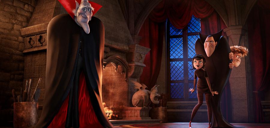 Contele Vlad, tatăl lui Dracula și Mavis în Hotel Transylvania 2