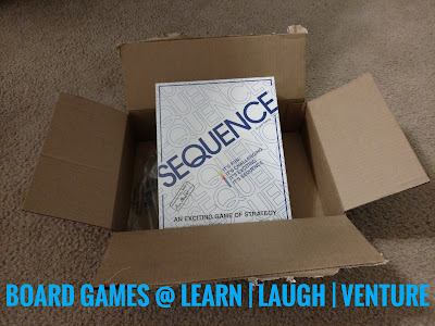 photo of sequence board game
