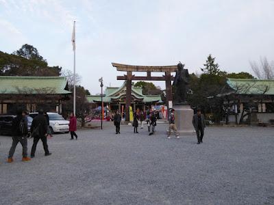 大阪城豊國神社 境内