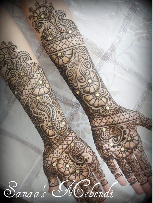 Fancy Mehndi Design: Sanaa's Arabic Mehndi Fancy Designs