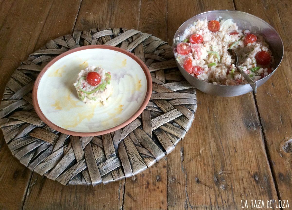 Ensalada de arroz con at n la taza de loza - Ensalada de arroz y atun ...