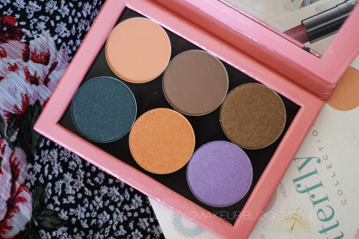 Nabla Butterfly Valley ombretti eyeshadows