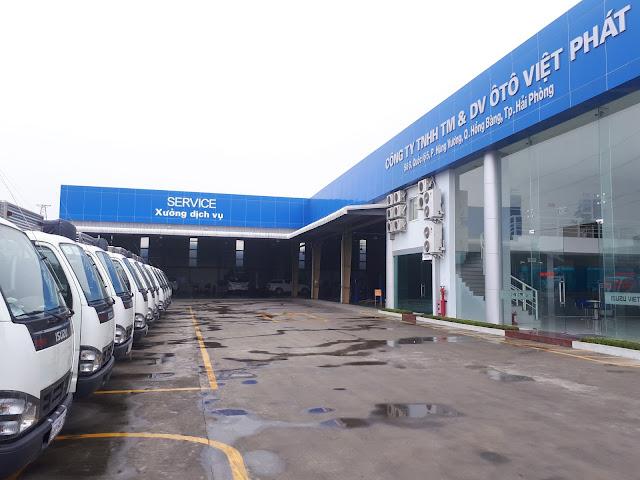 Isuzu Hải Phòng - Đại lý ô tô Isuzu Việt Phát