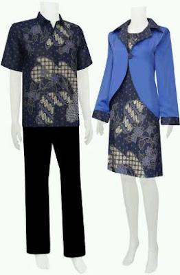 Baju lebaran untuk pasangan remaja pria wanita