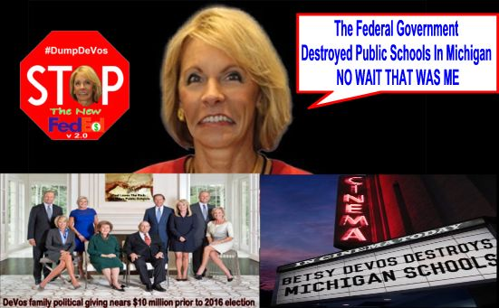 Devos Says Real Problem In Education Is >> Big Education Ape Devos Says The Real Problem In Education Is The