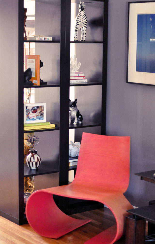living room decor, ikea expedit room divider, oto chair