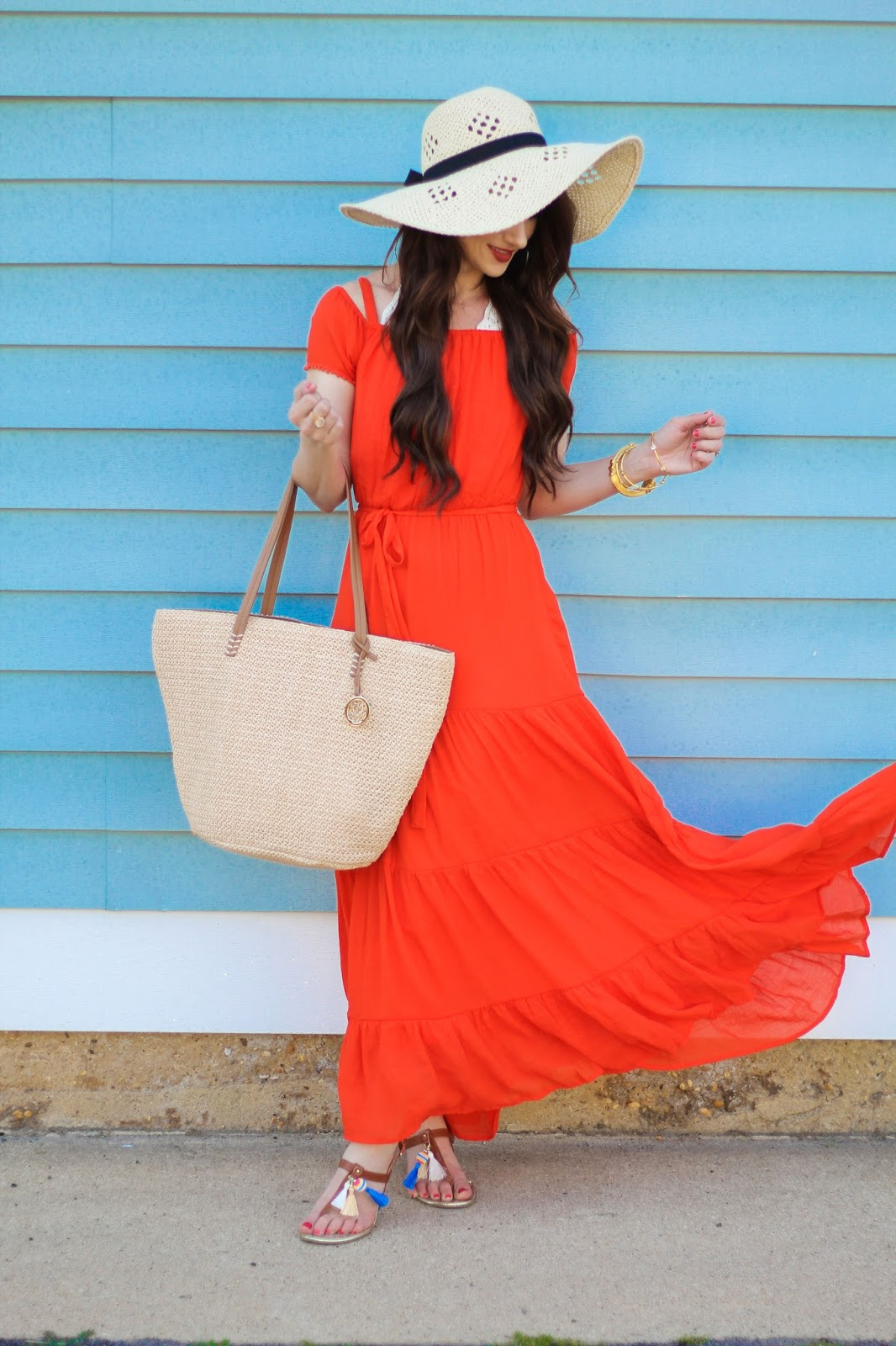 The Perfect Summer Maxi Dress With New York And Company Kiss Me