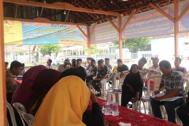 Sosialisasi Kelompok Sadar Wisata (POKDARWIS) Desa Telaga Biru, Kecamatan Tanjung Bumi, Kabupaten Bangkalan