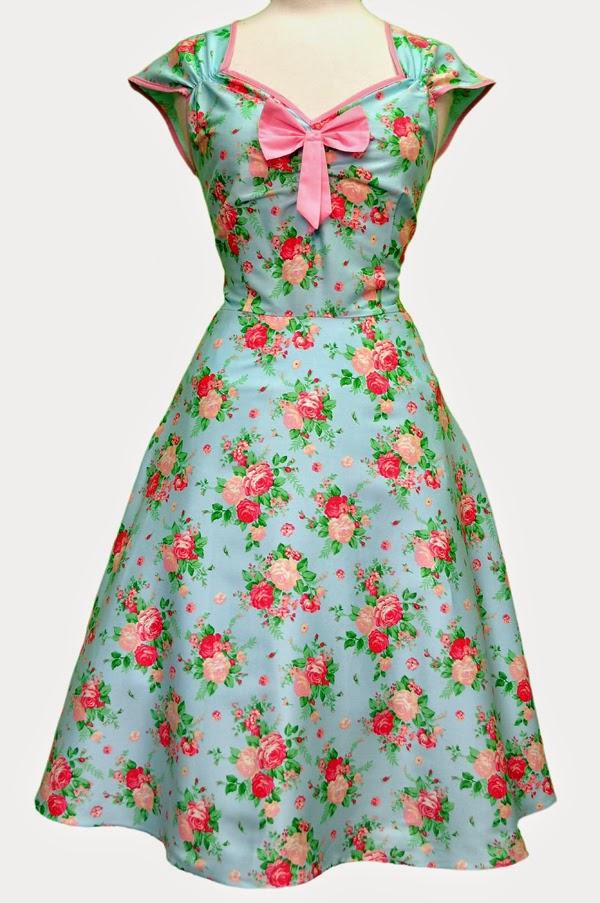 Vintage kleid 128