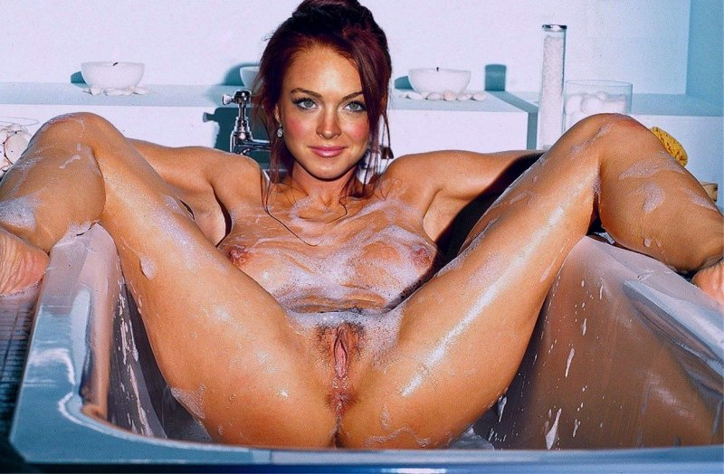Busty shower masturbating