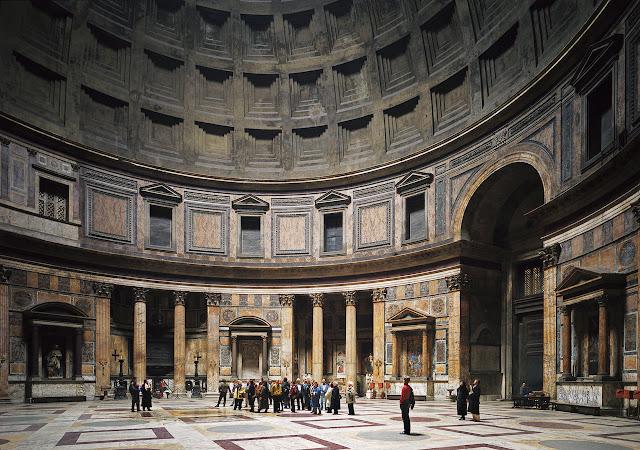 Foto Thomas Struth Pantheon, Rome Foto Paling Mahal Di dunia